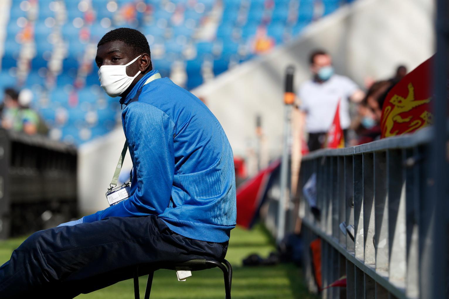 sport covid masque